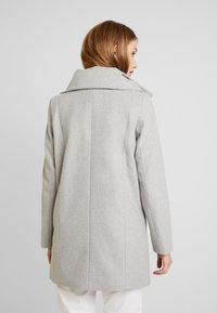 TOM TAILOR DENIM - Classic coat - light silver grey melange - 2
