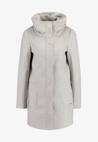TOM TAILOR DENIM - Classic coat - light silver grey melange - 3