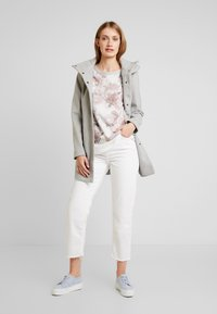 TOM TAILOR DENIM - Classic coat - light silver grey melange - 1