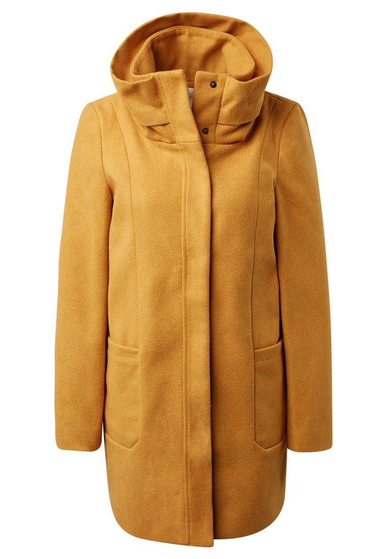 Tom Tailor Denim Wollmantel/klassischer Mantel - Golden Shine Yellow