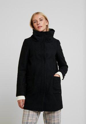 Classic coat - deep black