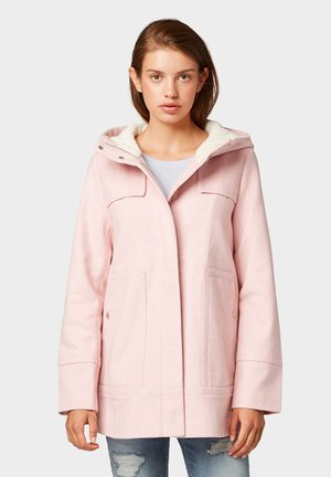 SHORT COAT - Abrigo corto - light pink
