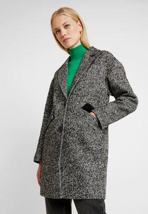 COCOON - Zimní kabát - black/white