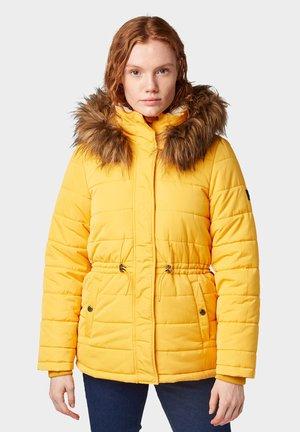 Abrigo de invierno - golden shine yellow