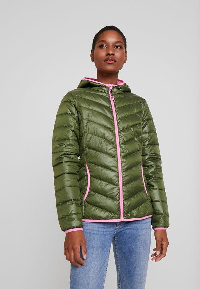 LIGHT PADDED JACKET - Zimní bunda - green