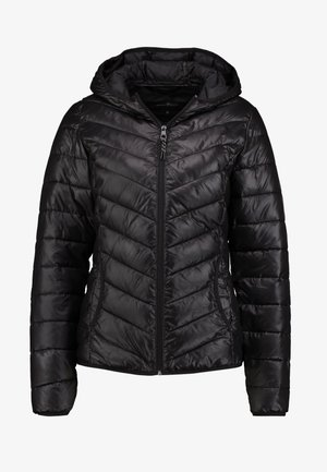 LIGHT PADDED JACKET - Lehká bunda - deep black