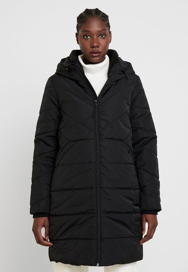 PUFFER COAT - Zimní kabát - deep black