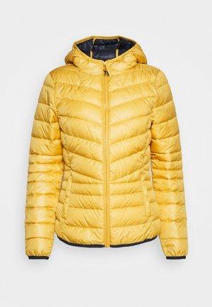LIGHT PADDED JACKET - Light jacket - indian spice yellow