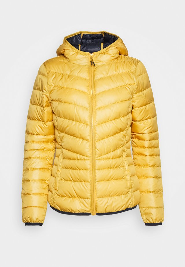 LIGHT PADDED JACKET - Kurtka przejściowa - indian spice yellow