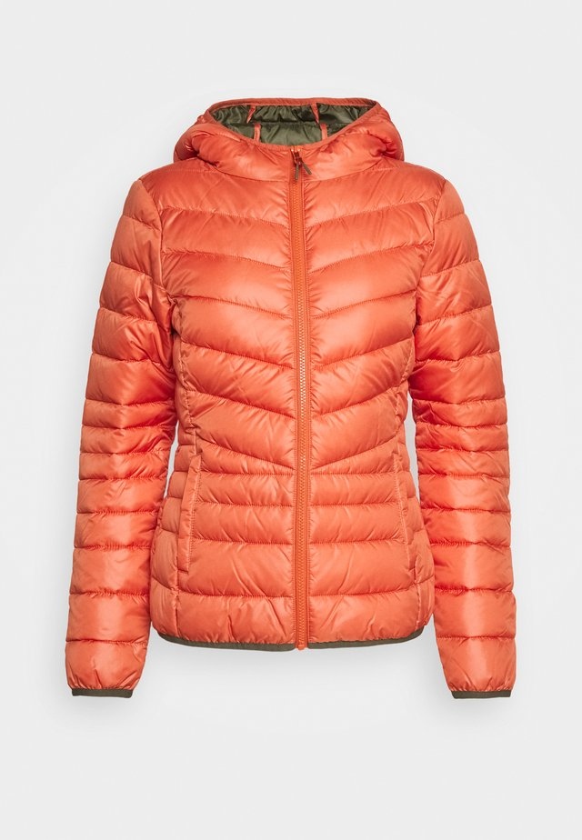 LIGHT PADDED JACKET - Jas - burnt coral