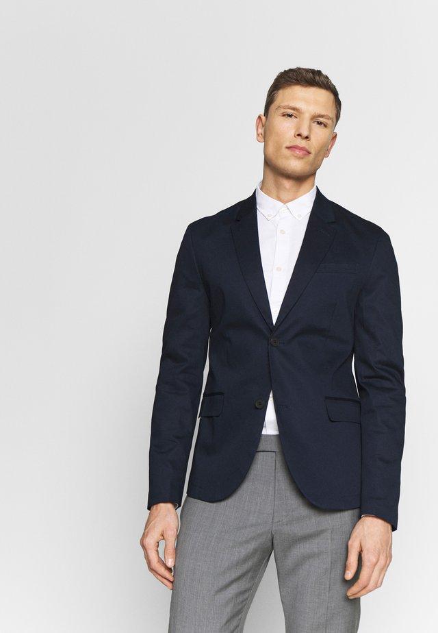 Suit jacket - sky captain blue