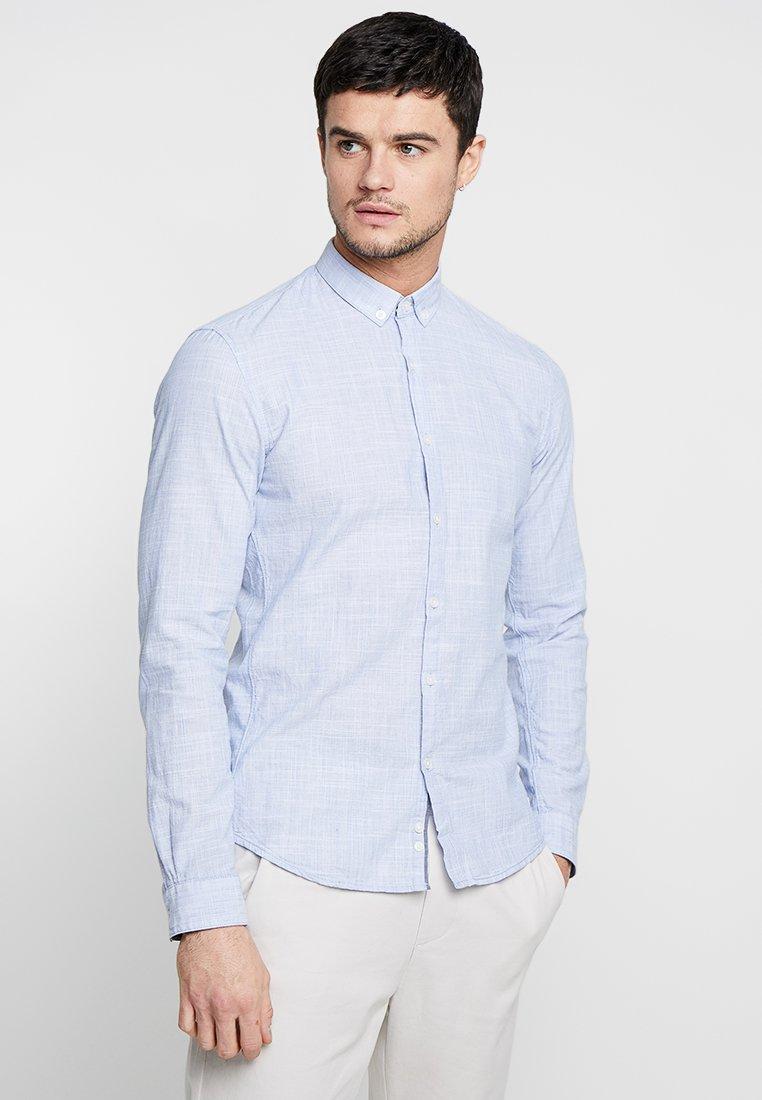 TOM TAILOR DENIM - STRUCTURE - Camisa - blue younder