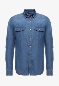 stone blue denim