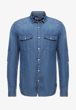 Camicia - stone blue denim