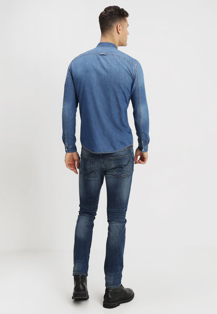 Tom Denim Tailor Tom Tailor ChemiseStone Blue Denim hxsrBQdtC