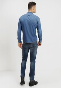 TOM TAILOR DENIM - Košile - stone blue denim