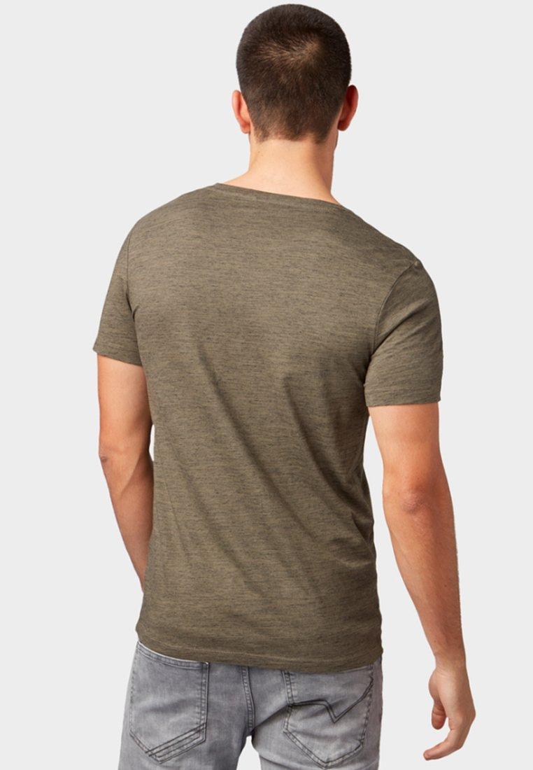 BasiqueOlive Tom Tailor shirt T Denim jqL543AR