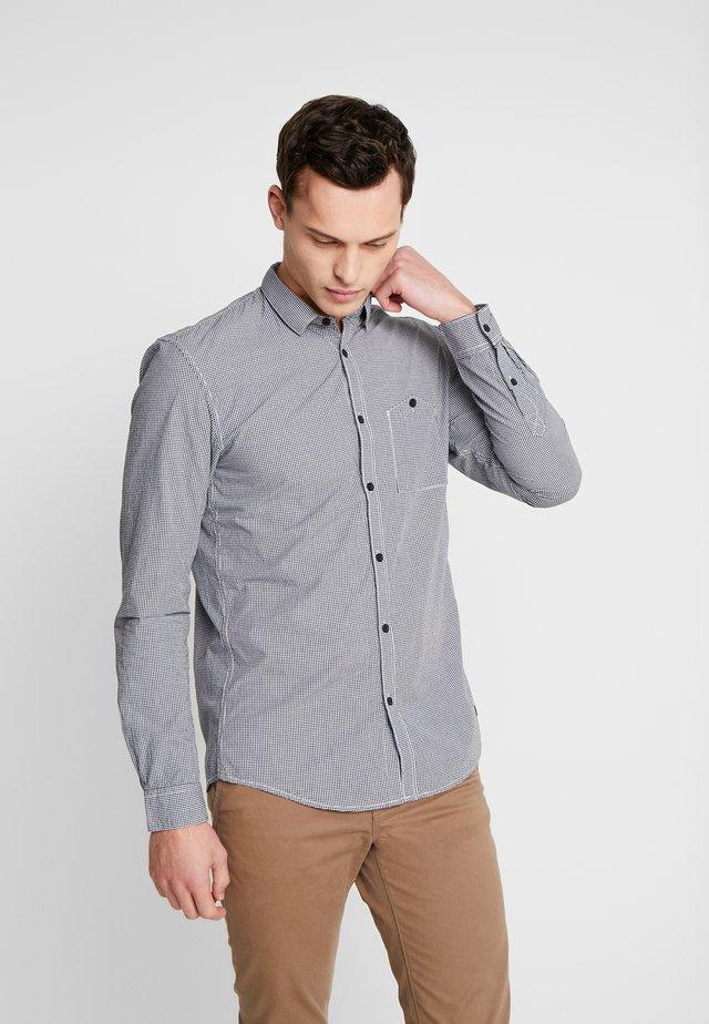 MINI VICHY - Shirt - navy/white/blue