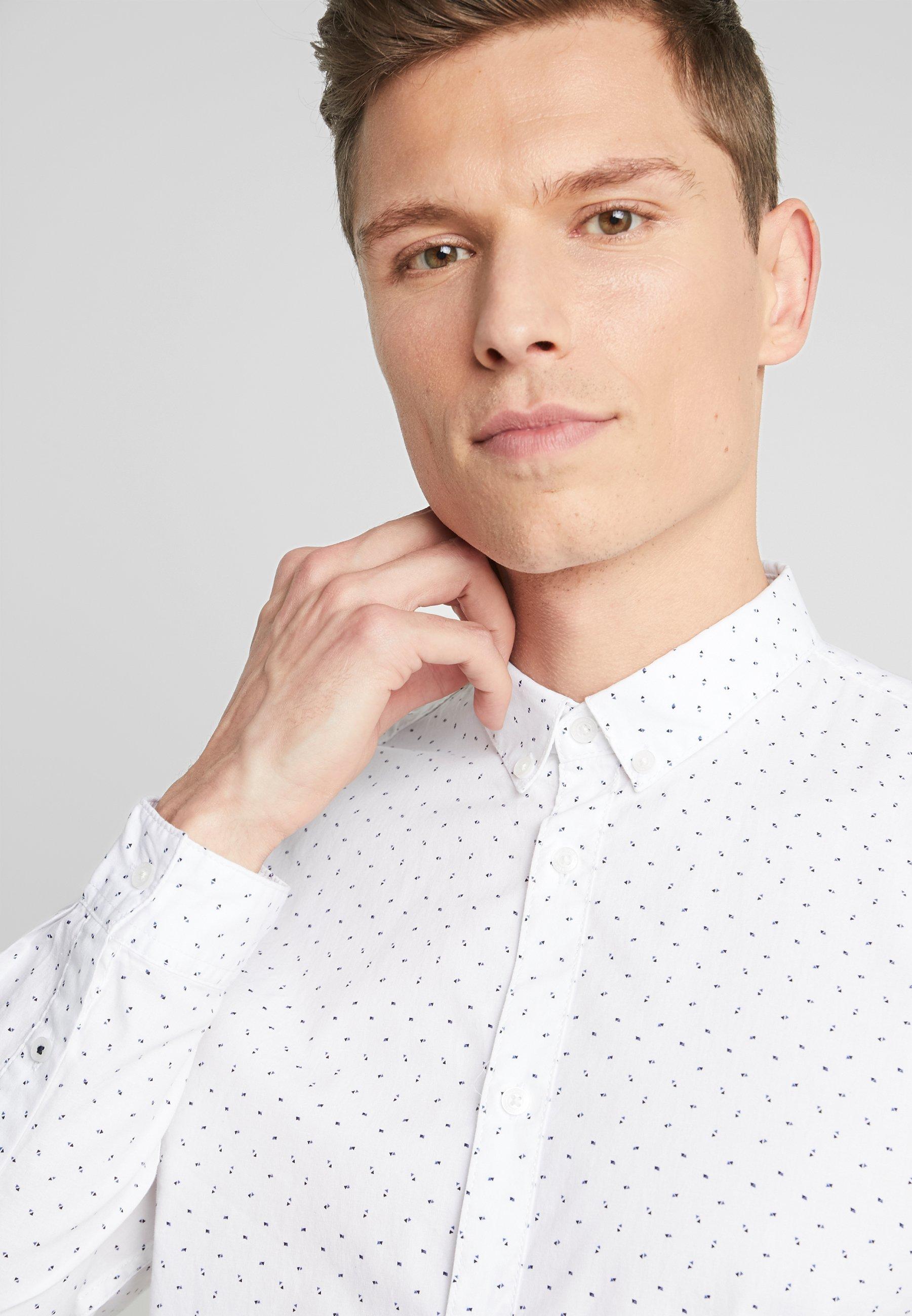Tom Tailor Denim Camicia - White fbBvL