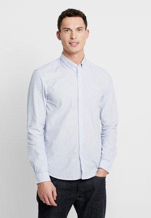 CHECK AND STRIPE SHIRTS - Camicia - white/ blue
