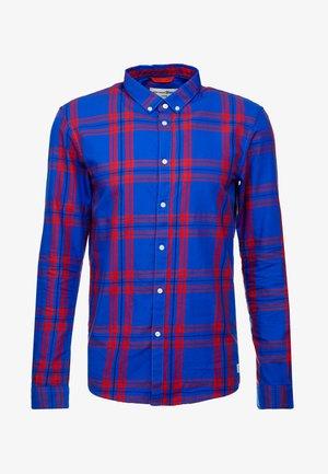 CHECK AND STRIPE SHIRTS - Košile - blue/red