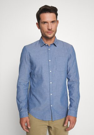 STRUCTURED - Chemise - blue/white