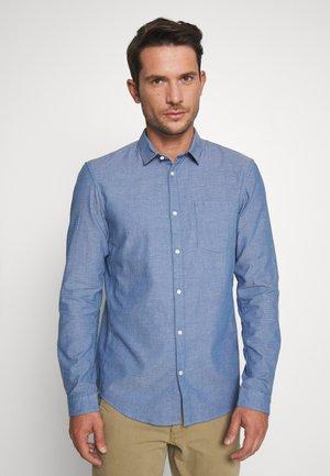 STRUCTURED - Skjorta - blue/white