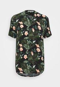 TOM TAILOR DENIM - BOTANICAL HAWAI  - Shirt - green - 4