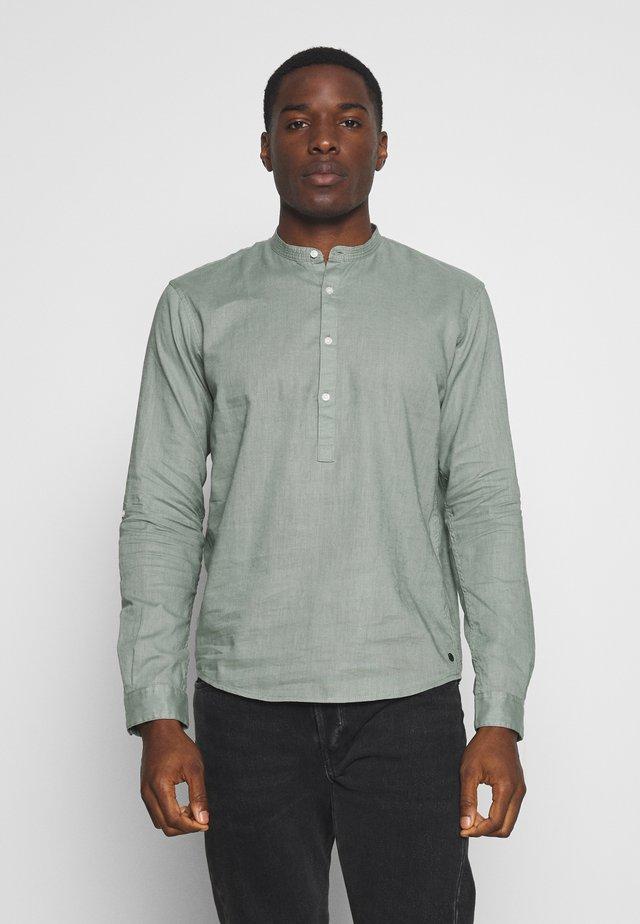 MIX TUNIC - Shirt - dusty leave green