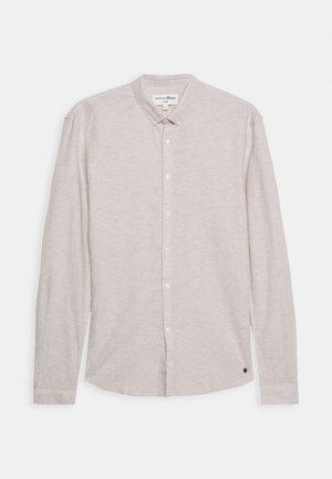 LONGSLEEVE - Košile - fog beige/white