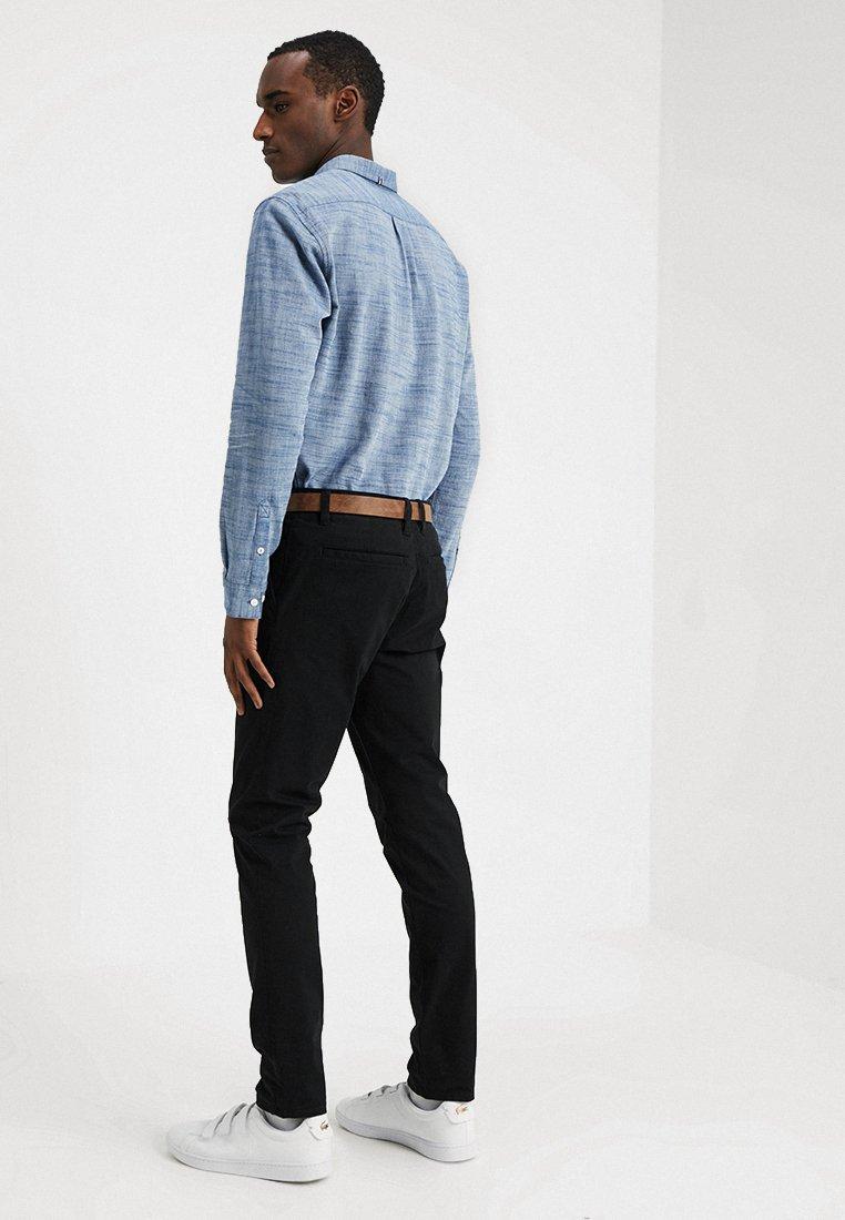Tailor Denim Black Tom With BeltPantalon Classique qzpUSVM