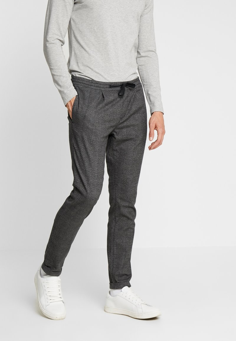 TOM TAILOR DENIM - JOGGER - Trousers - grey