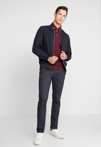 TOM TAILOR DENIM - STRUCTURED - Chino - navy grindel - 1