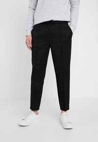 TOM TAILOR DENIM - Kalhoty - black - 0