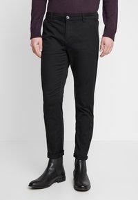 TOM TAILOR DENIM - Pantalon classique - black - 0