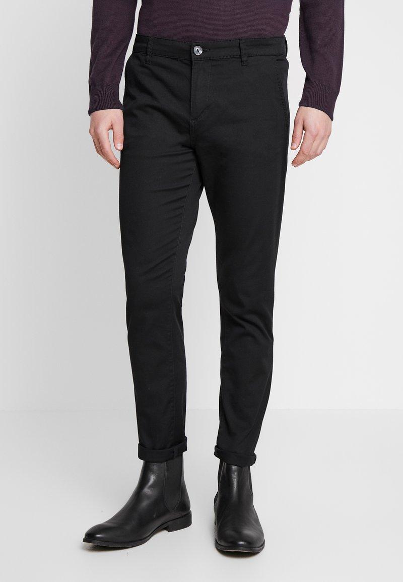 TOM TAILOR DENIM - Pantalon classique - black