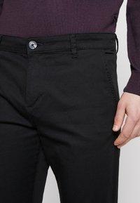 TOM TAILOR DENIM - Pantalon classique - black - 4
