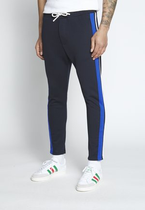 JOGPANTS TAPES - Spodnie treningowe - sky captain blue