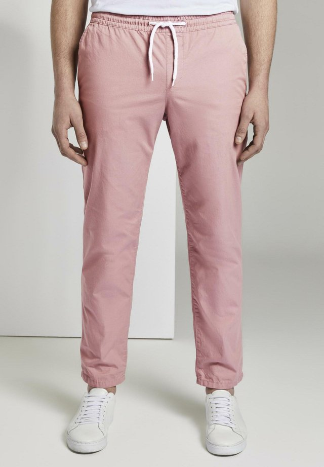 HOSEN & CHINO JOGGINGHOSE - Chino - antique rose