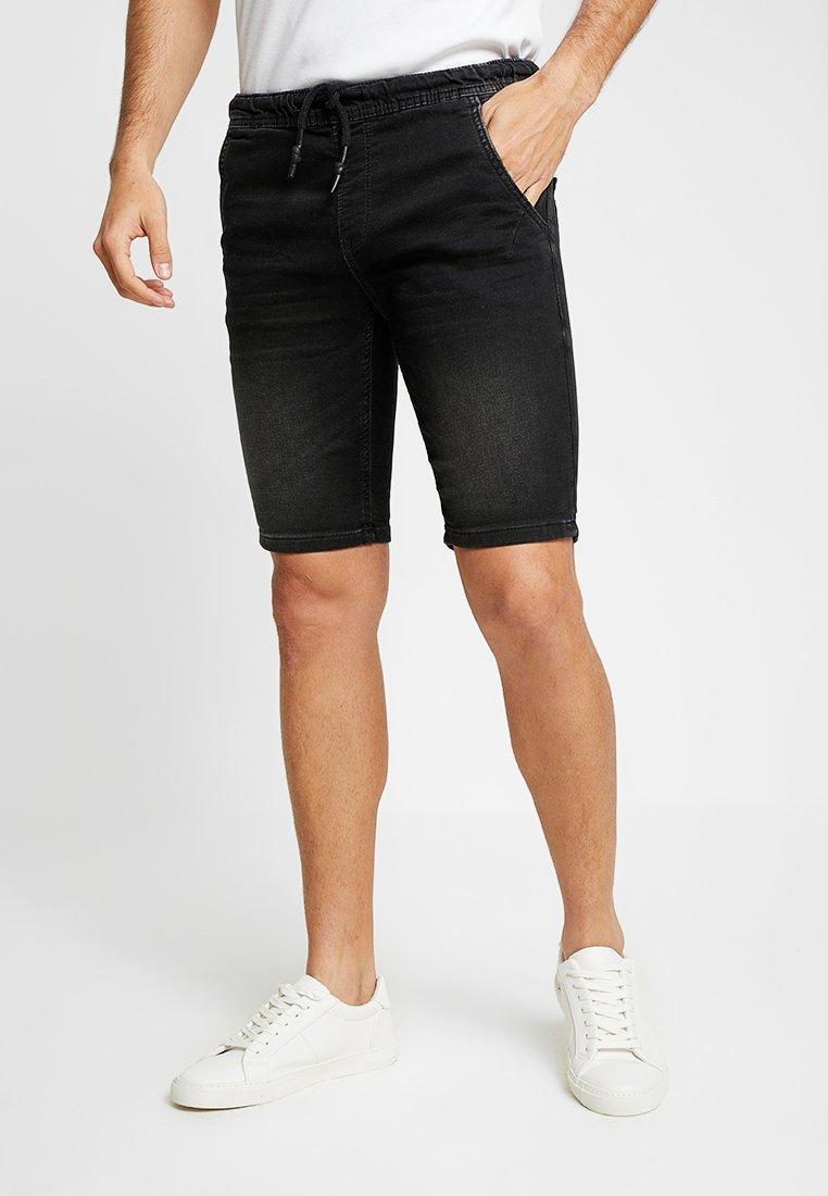 TOM TAILOR DENIM - Jeans Shorts - black denim