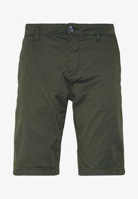 TOM TAILOR DENIM - CHINO SHORTS - Shorts - woodland green - 4