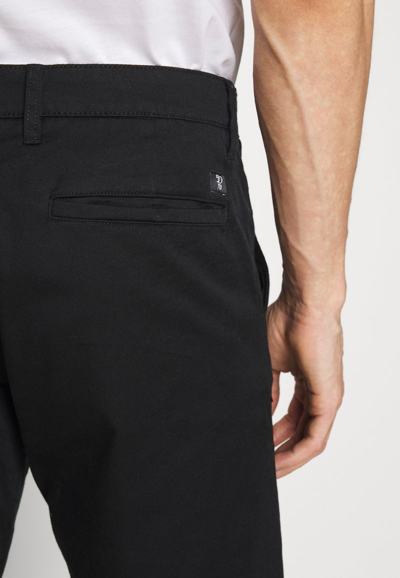 TOM TAILOR DENIM CHINO SHORTS - Shorts - black V30vyj nuovo arrivo