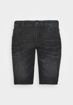 Short en jean - dark stone/black denim