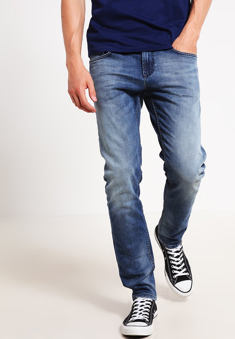 TOM TAILOR DENIM - Jeans Slim Fit - light stone wash denim