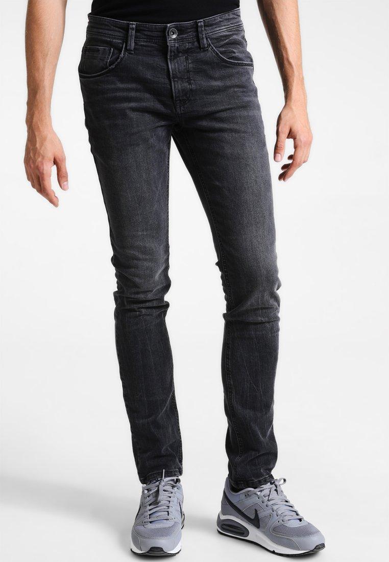 TOM TAILOR DENIM - CULVER  - Slim fit jeans - dark stone black denim