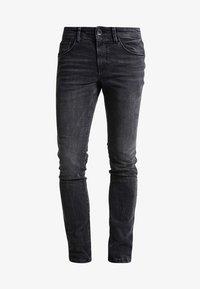 TOM TAILOR DENIM - CULVER  - Slim fit jeans - dark stone black denim - 5
