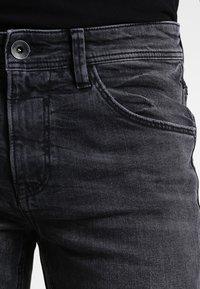 TOM TAILOR DENIM - CULVER  - Slim fit jeans - dark stone black denim - 3