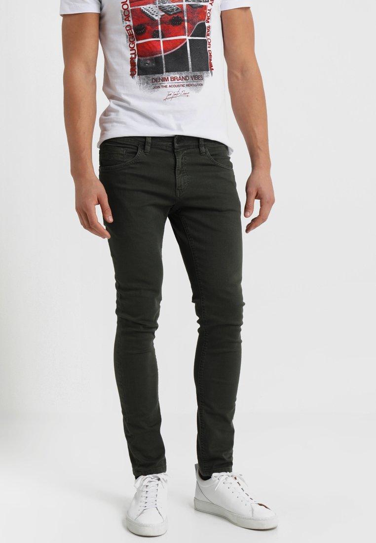 TOM TAILOR DENIM - CULVER  - Jeans Skinny Fit - dark rosin green