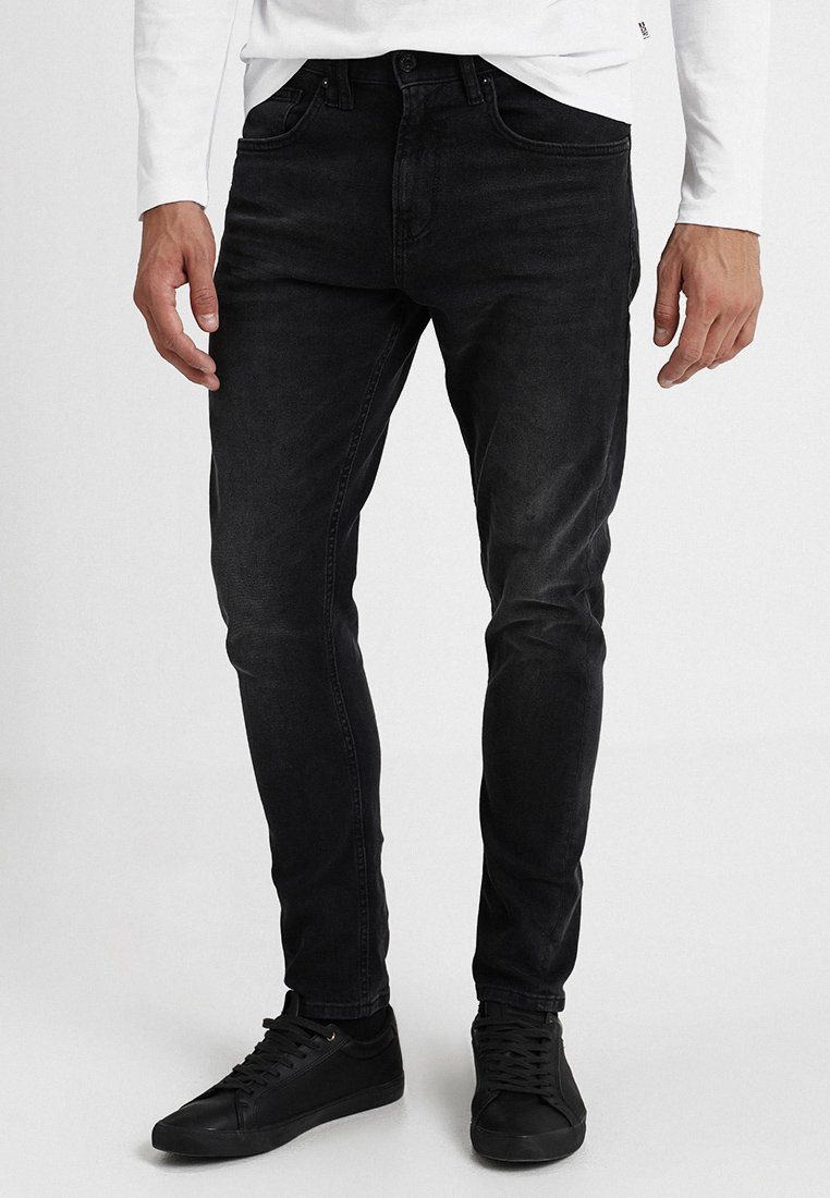 TOM TAILOR DENIM - CONROY - Jeans Tapered Fit - dark stone black