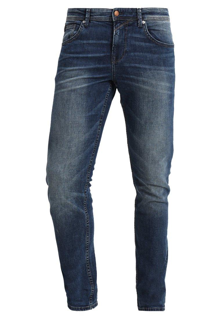 SLIM AEDAN Slim fit jeans mid stone wash denim